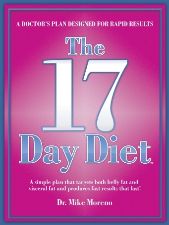 17 day diet book_Dr. Mike Moreno